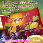 Whos still not tried the Fruity Five? Our fruitiest loaf yet! RT to #win #FreeLoafFriday http://t.co/E2v8ZSgrCd