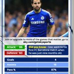 Who would you rather have in your team? RT for Fabregas, FAV for Nasri. Join us on #SNF for @ChelseaFC v @MCFC. http://t.co/M8CFahAzm2
