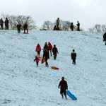 Watch: Youngsters having sledging fun in the #snow in #Northumberland http://t.co/oDEbNYARWe #northeast http://t.co/OVL5qov7Fi