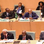 President Zuma chairing the APRM Forum of Heads of State and Government in Addis Ababa. Source: DoC http://t.co/WvUcrbjSWi