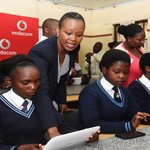 Communications Deputy Minister @Stellarated opens Cunningham Cyber Lab and hands over ITC equipment in Toleni village http://t.co/zBNrwpEOjM