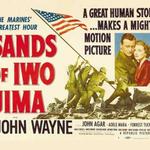 3/5 Sands of Iwo Jima is the Sunday film @swanseamuseum, John Wayne, Sergeant Stryker trains recruits...#5FridayFacts http://t.co/8JserWtADJ