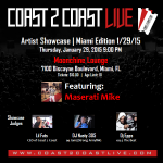 Congrats to @surfboardtommy for winning 3rd place at Coast 2 Coast LIVE | Miami Edition 1/29/15! Check it out! htt http://t.co/WlI8VGDOiJ