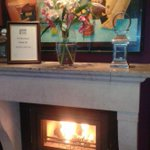 Fire is lighting on this cold, fresh morning & our happy team have the coffee & scones ready @ BlueHaven @kinsale_ie http://t.co/P6caPHEjPc