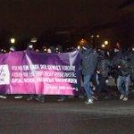 Foto von Antifa-Sponti gegen #nowkr Demoverbot gestern. Lasst euch nicht einschüchtern beteiligt euch an den Aktionen http://t.co/Dk8F8zif7g