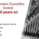 50 years on from state funeral of Sir Winston Churchill, follow events as they happened: http://t.co/YjM7dBLRi0 http://t.co/wf8PdfQkeU