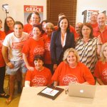 Thanks to the hardworking @QLDLabor volunteers supporting @gracextwo in Brisbane Central. #qldvotes #qldpol http://t.co/VzKnPghaKg