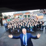 Great way to start my last day @SWEveningPost .. Pic if one of my heroes Max Boyce at Glynneath http://t.co/r5oe1FbXEj