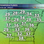 A cold start and only a cool finish to #BowTieFriday @KARK4News #ARWX #ARNews http://t.co/6Bo6FUCzU9