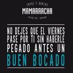 No dejes que el #viernes pase por ti sin haberle... #Mamarracha #Tapas #Brasas #TDSGastro #Sevilla http://t.co/EoTZuICxCD