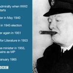 Churchills political career spanned more than half of the 20th Century #BBCChurchill http://t.co/y3k7cT3HSg