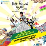 7 Feb | @batiknight2015 | @KuntoAjiW @endahNrhesa @GBluesShelter | GOR B Pajajaran Bogor | info : Wica 087870543195 http://t.co/pzeaSnKpP7