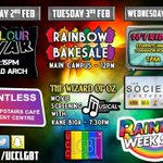 Rainbow Week 2015 is ready to go ???? make sure to catch one of our events next week @UCCSU @societiesguild http://t.co/QBCo1ZAqOu