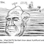 """""""... de Klerk had hands soaked in blood and had ordered political killings and other crimes"""" - Eugene de Kock http://t.co/gwaA6afQ0Z"""