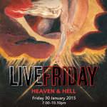 First #LiveFriday of 2015 is tonight! Join us for an evening #InspiredByBlake's epic The Marriage of Heaven & Hell http://t.co/xOeh6hnXm9