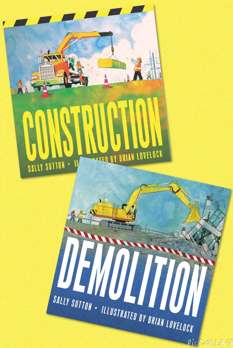 Sally Sutton and Brian Lovelock are back with a Thonk! Clonk! Clap! RT & follow by 6pm to win their building books! http://t.co/tzAldQtwg0