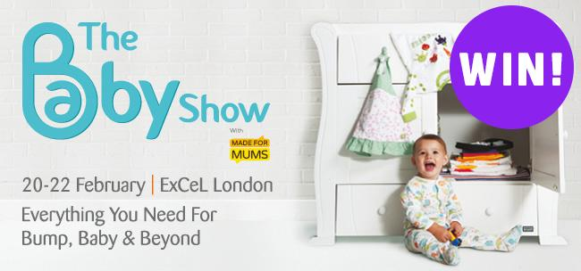 *WIN* tickets for @TheBabyShow. We have 5 pairs to giveaway. To enter follow & RT by Weds 4 Feb at 3pm. Good luck! http://t.co/Z16QwUbSDk