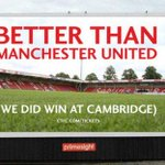 Just published by @BBCSport: @CTFCofficial fans fund better than @ManUtd  billboard http://t.co/n7lZ7dsBcm http://t.co/N1CZNWITD3