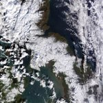 Severe #windchill over hills of northern UK this weekend, clothed in #snow in this NASA satellite pic. Peter http://t.co/kranWpjdMx