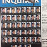 A peek at tomorrows front page: A tribute to #SAF44 by @NPaurom @LAVie_nrose Photos from PNP #Mamasapano http://t.co/QeHioozvZ7