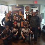 Our team is wicked pumped for the @Patriots Tweet us your photo for a chance to win Dunkin! @WITNews #SuperBowlXLIX http://t.co/SXxa1NSvc0