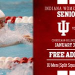 Go Hoosiers! #GoIU RT @IUSwimAndDive: SENIOR DAY! Come support the ladies vs Louisville & men vs Evansville tonight. http://t.co/gGxJv8XAgs