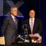 Belichick & Carroll kick off their joint press conference - their final media availability before the Super Bowl. http://t.co/aZRODCfMG1