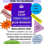 Please RT? @DailyInfoOxford Fabulous FREE Wellbeing Fair tomorrow! Loads of things to make you feel great! #Oxford http://t.co/Mlw3GID1sH