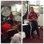 An inspirational @PrincesTrust Q&A session with @LeeTrundle10 #learningfromthePros #TogetherWeCan http://t.co/8ZG6bXn5Xs