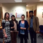 """""""@bhismadev: Celebrating the successful #PhD defence of Alokananda Rudra with her examiners! http://t.co/v9HTnk2pHO"""" Congrats"""