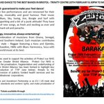 @BS_Music_Live Fundraising concert for Protect our NHS with #Bristol bands Zen Hussies & Baraka @TrinityBristol 20Feb http://t.co/aYgSw4jhho