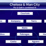 Here is Tore Andre Flo and Tony Gales combined XIs from @ChelseaFC and @MCFC. Keep yours coming in using #SSNHQ. http://t.co/WhNnLtzjju