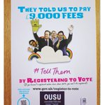 They told us to pay £9,00 fees. What would you #TellThem? #GenerationVote http://t.co/oQF74KcSGW