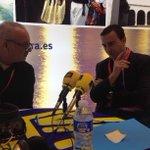 Ya tenemos en  estudio móvil de HxH en FITUR a Abel Matutes Prats ,vicepresidente  ejecutivo de Paladium Hotel Group http://t.co/ezKY90lNV0