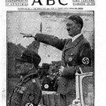"""Mira cómo ensalzaba a Hitler y sus """"grandes obras"""" el periódico fascista que hoy ataca a Diosdado http://t.co/ycnWQkOuBs"""