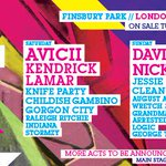 Its official, were the headline partner of @WirelessFest. Whos seen the line-up? #NewLookWireless http://t.co/42rYdJJr7L