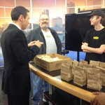 .@GregDeeWeather hanging out with .@whichwich on his last day with us. http://t.co/fQzheWk5fC