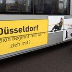 Gestaltete #Straßenbahn zur Woche der #Inklusion startet mit #Selfie-Aktion ihre Fahrten. http://t.co/DS3aeZazY0 http://t.co/NzGx4EKZbm