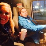 @WEARRicki and @WEARtristan are trying to stay warm! Theyre #Live in Navarre in less than 5 mins! Tune in! @weartv http://t.co/6PZbQCwujx