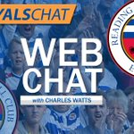 Its Friday lunchtime, so its nearly webchat time! Get involved now http://t.co/9qPk96tW3E #readingfc http://t.co/uOD0wsT8BW