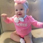 Baby Grace with a shoutout to @GregDeeWeather on this #BowTieFriday! http://t.co/G0J6yO1DDJ