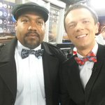 AL wore a bow tie this morning! He was our weekend director when I started at @kark4news. http://t.co/W8EPjnu52V