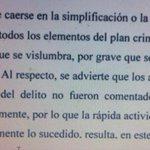 Aca Nisman avisa que el solo denuncia la punta del iceberg y que hay que actuar rapido, como respuesta lo mataron http://t.co/9TPzfMjBs3