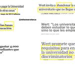 Hoy Wert aprueba carreras de 3 años y máster de 2 Wert 3 años luchando por la Universidad Pública #NOal3mas2 http://t.co/1RPdaMiZVK