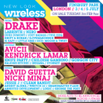 Confirmed: @WirelessFest Initial Line-Up Revealed with @Drake set to headline| RWD http://t.co/F8Bl6B9w1e http://t.co/OIkxKpdmIX