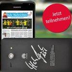 Wir verlosen fünf Smartphones - jeweils mit dem Autogramm von #BVB-Kapitän Mats #Hummels: http://t.co/iphC5SpUni http://t.co/nuyQ5L5Vj0