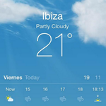 Its partly cloudy, its the 30th of January, its 21°C! #Ibiza! http://t.co/Puy03r2lvj
