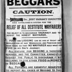 BEGGARS - CAUTION. Up on @tumblr today, an old vagrancy sign from Woodley #rdguk http://t.co/OJe3eyTuS4 http://t.co/nqPorhxHhb