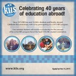 Feb 15 is approaching. Get in on a #studyabroad of a lifetime! Go Greece w/@KiisStudyAbroad, celebrating 40 years! http://t.co/qu9CcUMxqK