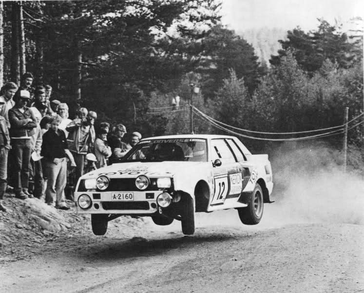 Toyota coming back to the WRC. Enough to make you jump for joy. http://t.co/laQCmeImHb